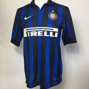 Nike Inter Milan FC Firelli Soccer Football Jersey